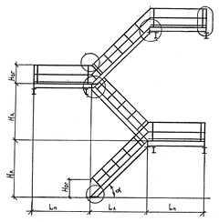 Лестницы стальные типа ЛГВ серии 1.450.3-7.94.2